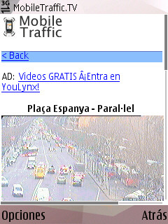 trafic trfico desde el mvil