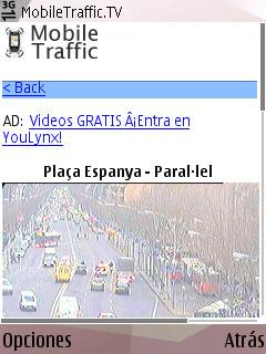 trafic tráfico desde el móvil