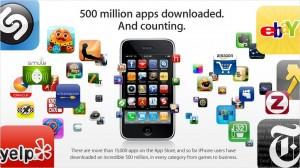 apps iphone 300x168 quién se descarga realmente nuestras aplicaciones móviles?
