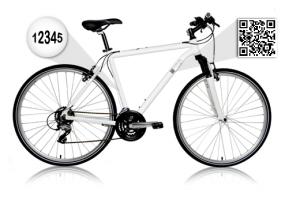 bici qr 300x200 Un interesante uso de los qr code en las bicicletas