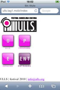 ulls iphone 200x300 festival ulls: un nuevo proyecto creado con Astrolabi suite de creación webapps de ubiqua y códigos bidi